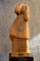 Skulptur-Olive-60cm